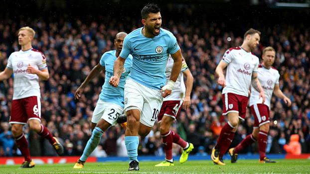 Veja os melhores momentos da vitória do Manchester City sobre o Burnley por 3 a 0 pela Premier League