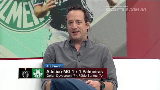 Sabor de vitória para o Palmeiras e derrota para o Atlético-MG: Gian analisa empate no Independência