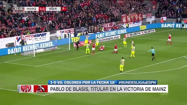 Mainz tem jogador nervoso e expulso, mas vence Colônia por 1 a 0
