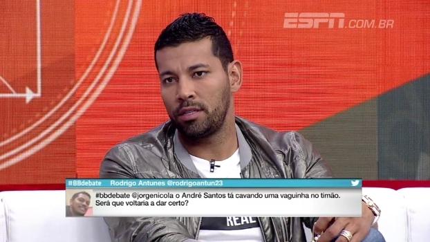 André Santos revela sondagem de clube brasileiro e diz querer se aposentar no Figueirense