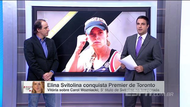Meligeni fala do sexto vice de Wozniacki no ano: 'Ela tem crédito; ela vai além do tênis dela toda semana'