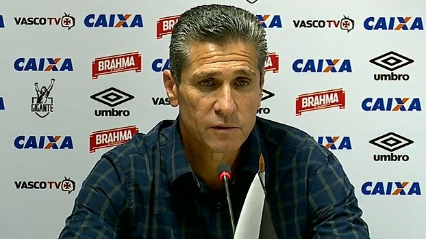 Jorginho pede desculpas à torcida do Vasco e diz: 'Saio com missão cumprida'