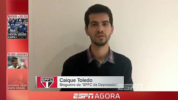 ESPN FC: Blogueiro do 'SPFC da Depressão' diz que São Paulo venceu, mas não convenceu