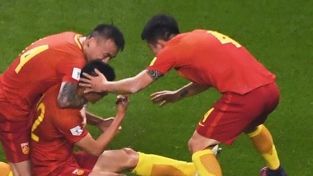 Veja o gol da vitória da China sobre a Coreia do Sul por 1 a 0