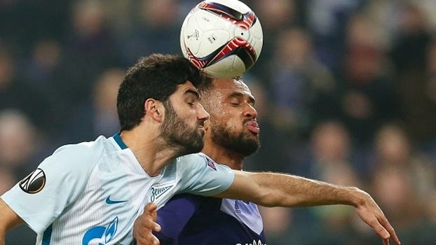 Anderlecht faz 2 a 0 no Zenit e fica perto de ir às oitavas da Europa League