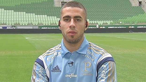 Gabriel diz que ainda não foi procurado para renovar com Palmeiras ... 0bf618b307cfd