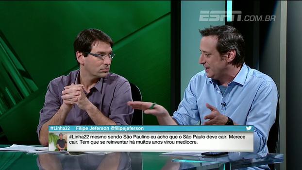 Gian: 'O São Paulo não tem conseguido fazer metade dos gols para as chances claras que cria'