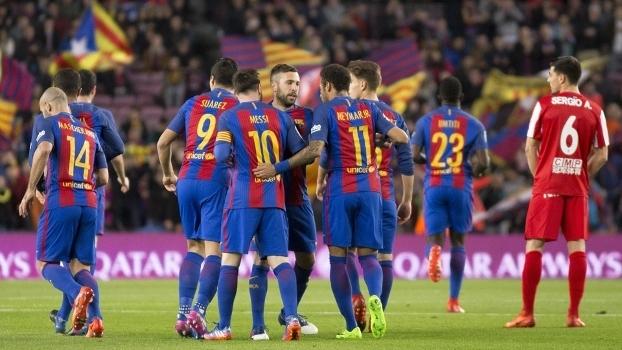 LaLiga: Gols de Barcelona 6 x 1 Sporting Gijón