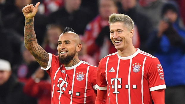 Bundesliga: Gols de Bayern de Munique 3 x 0 Augsburg