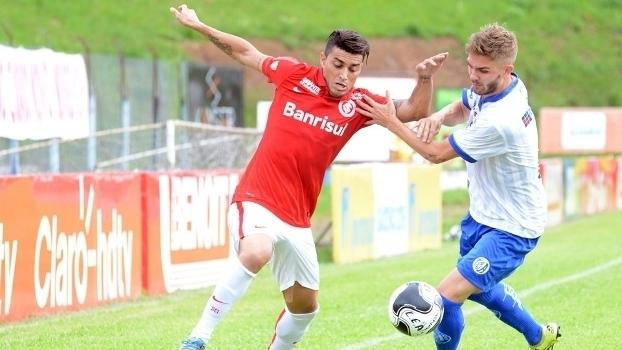 Assista aos gols do empate entre Aimoré e Internacional por 1 a 1!