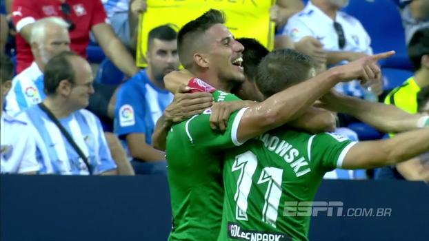 Assista aos melhores momentos da vitória do Leganes sobre o Malaga por 2 a 0!