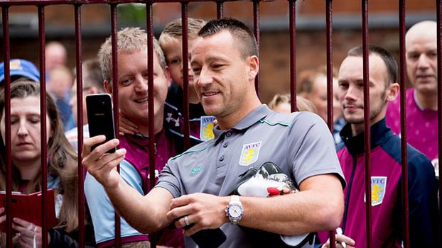 John Terry: 'A minha ambição ao vir para o Aston Villa é o acesso à Premier League'
