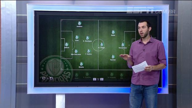 Cheio de desfalques e com estreia de Deyverson: Hofman mostra como o Palmeiras deve encarar o Sport