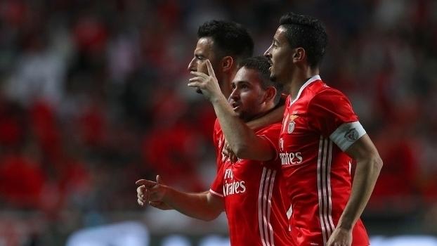 Taça de Portugal: Gols de Benfica 3 x 3 Estoril