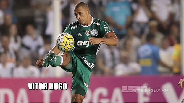 Veja lances do zagueiro Vitor Hugo, ex-Palmeiras, que acertou sua ida à Fiorentina