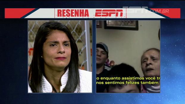 Preconceito no início, futebol com os irmãos e mais: Sole Jaimes se emociona no Resenha ESPN