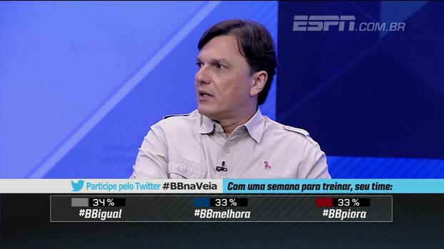 Mauro analisa Parreira como vice de futebol do Fluminense: 'É uma grife fora de moda'
