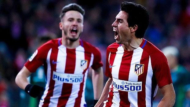 LaLiga: Gol de Atlético de Madri 1 x 0 Real Betis