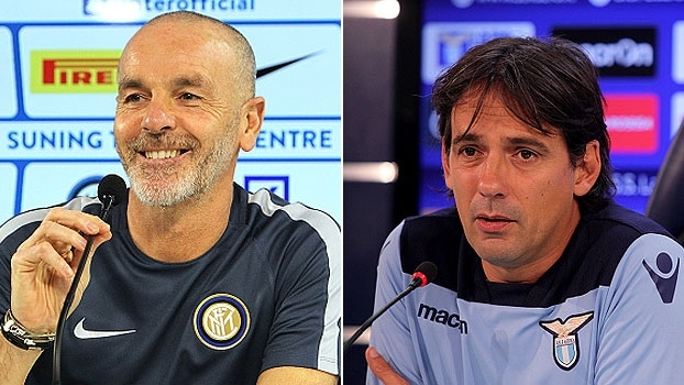 Antes do confronto, técnicos de Inter e Lazio mostram otimismo e apostam em resultado positivo