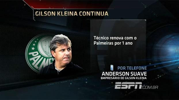Procurador de Kleina afirma que não houve redução salarial em renovação de contrato com o Palmeiras