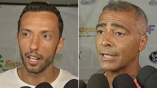 Após evento beneficente, Romário comenta sobre CPI: 'Estão roubando o futebol'