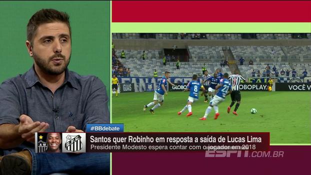 Nicola atualiza situação de Robinho, que atrai interesse de Santos e Atlético-MG