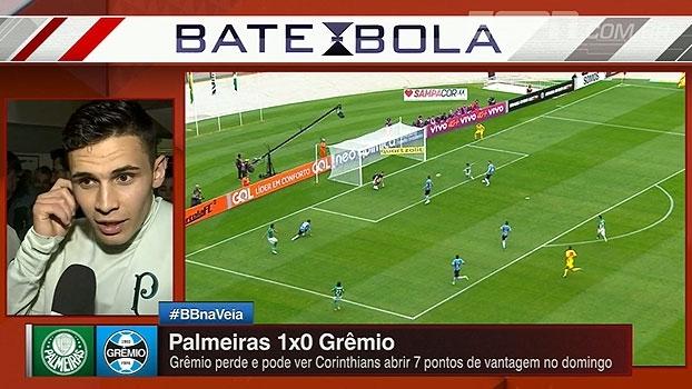 Raphael Veiga comemora oportunidades no Palmeiras e vitória no Pacaembu