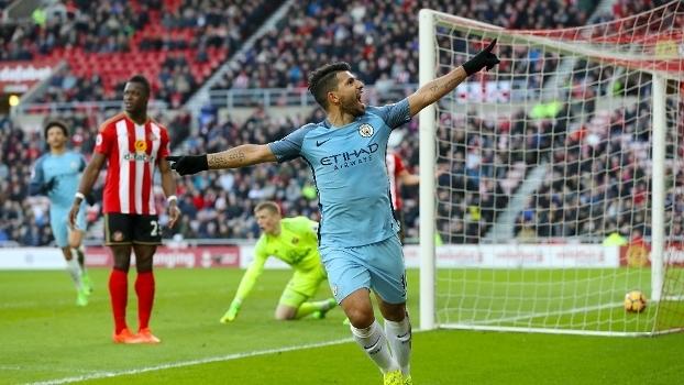Premier League: Gols de Sunderland 0 x 2 Man. City