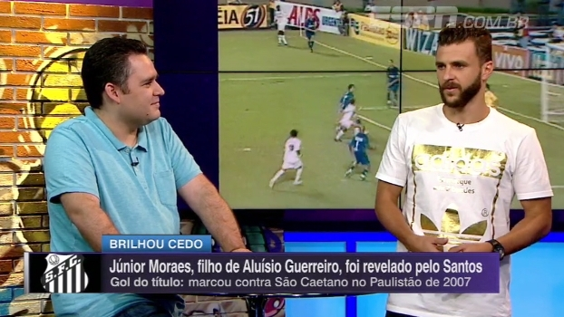 b46f8305f6b1c Júnior Moraes relembra gol do título Paulista de 2007   Sonhava em fazer  história no