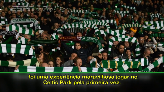 Após vitória na Champions, Robben elogia atmosfera do estádio do Celtic: 'Respeito absoluto'