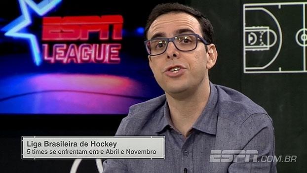 'ESPN League': Thiago Simões destaca início da Liga Brasileira de Hockey