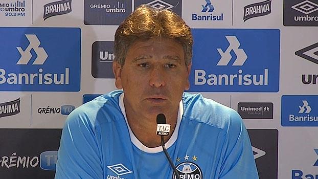 Renato revela 'missão' aos jogadores e analisa: 'Grêmio jogou 180 minutos, Cruzeiro só 90'