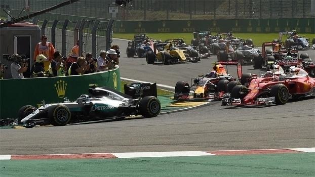 Fórmula 1: Veja os melhores momentos do GP da Bélgica, vencido por Nico Rosberg