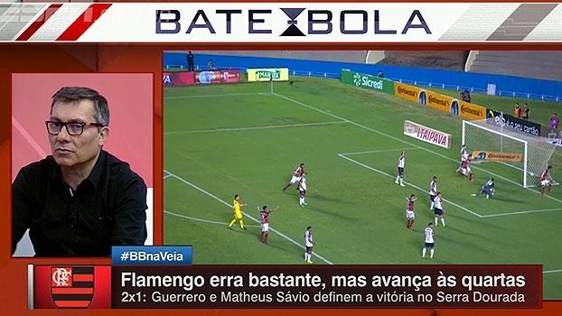 Calçade, sobre Flamengo: 'Não podem ficar na dependência do Diego, jogando a responsabilidade na falta dele'