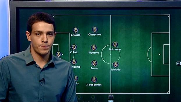 Duas linhas de 4, time fechado e dupla de ataque: Rafa Oliveira analisa onde Pato entra no Villarreal