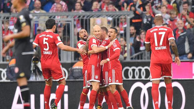 Bundesliga: Gols de Bayern de Munique 4 x 0 Mainz