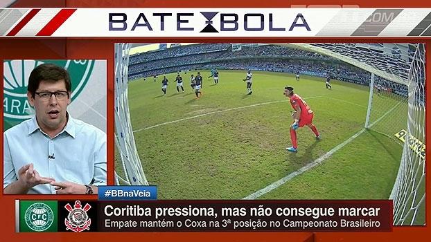 Unzelte analisa empate do Corinthians: 'Fica o receio da volta a um patamar que talvez não saia'