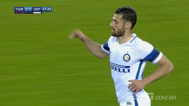 Tempo real: GOL da Inter! Em cruzamento, Hart falha de novo, Candreva aproveita sobra e empata