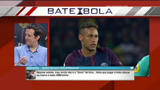 Gian compara Neymar do PSG com o da seleção e entende Cavani ser o batedor oficial de pênaltis