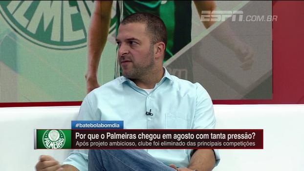 Zé Elias analisa relação de Cuca e diretoria: 'Cobrança tem que existir'