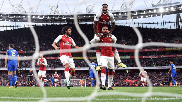 Premier League: Gols de Arsenal 4 x 3 Leicester