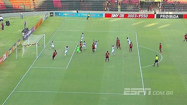 Brasileiro: Gol de Sport 0 x 1 Coritiba