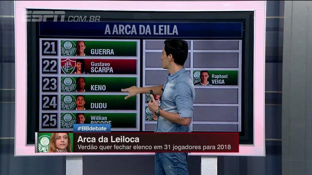 Com direito a Rafinha, Scarpa e Goulart, Bate Bola escolhe os 31 atletas para elenco do Palmeiras em 2018