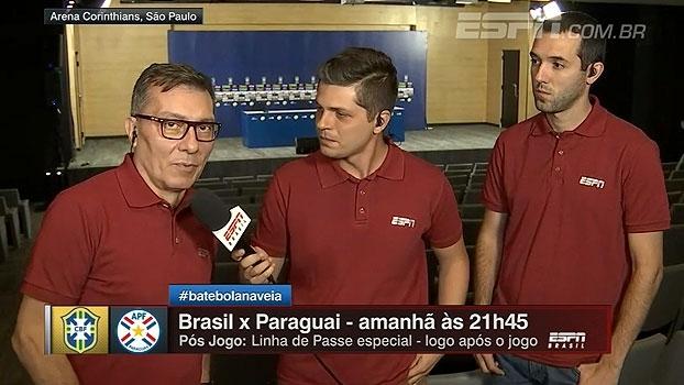 Calçade ainda vê seleção 'em formação' e espera novo testes contra o Paraguai
