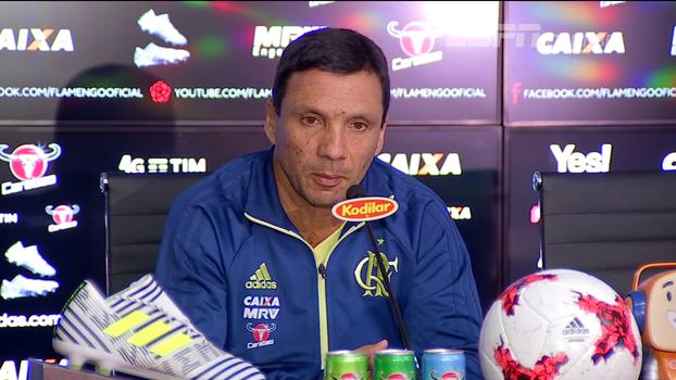 Zé Ricardo: 'O Flamengo busca o equilíbrio, mas sem deixar de jogar'