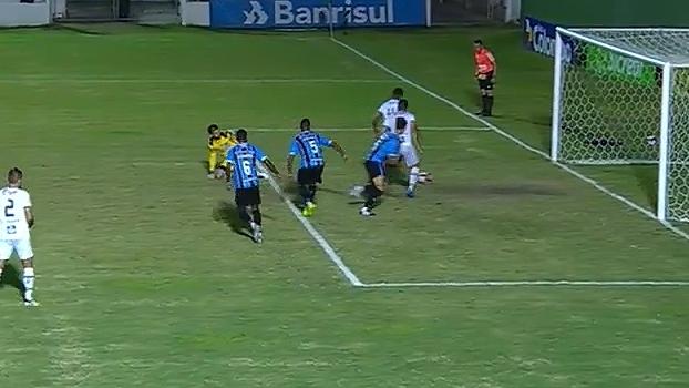 Gaúcho: Gol de São Paulo-RS 1 x 0 Grêmio