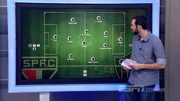 Atlético-MG mais ofensivo ou defensivo? Hofman analisa as opções do Galo para enfrentar o São Paulo