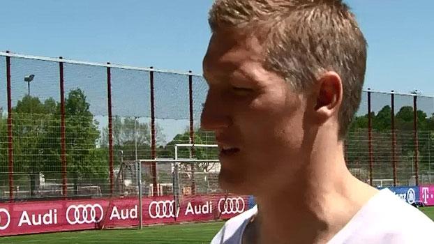 'Adoraríamos chegar na final e encontrar o Brasil' , diz Schweinsteiger
