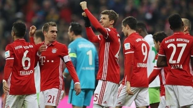 Bundesliga: Gols de Bayern de Munique 5 x 0 Wolfsburg