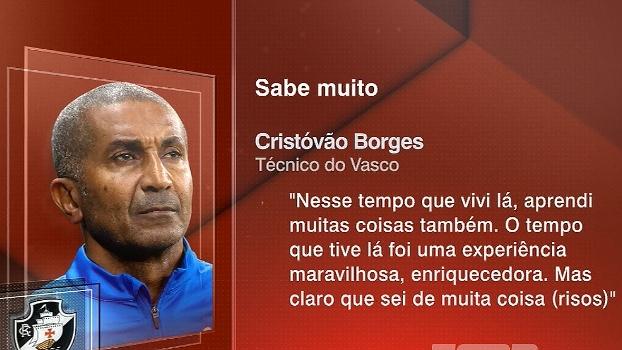 Cristóvão Borges diz que aprendeu muito com o Corinthians, mas que possui alguns segredos do clube